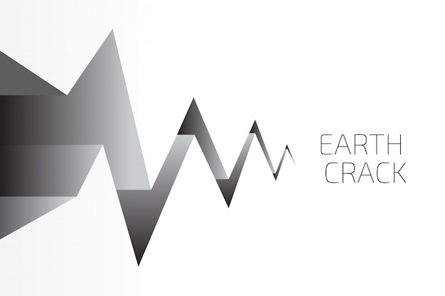 Earth crack achtergrond