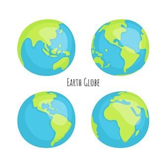 Earth globe pack