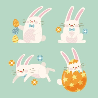 Easter bunny collectie