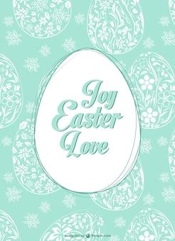 Easter egg patroon