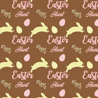Easter hunt pattern design