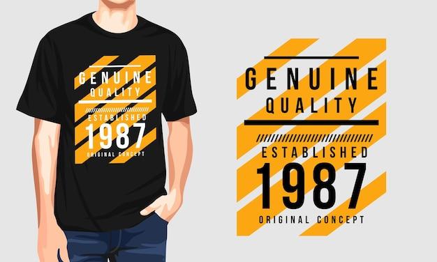 Echte kwaliteit - casual heren t-shirt