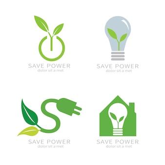 Eco groen blad. ecologie groen pictogram.
