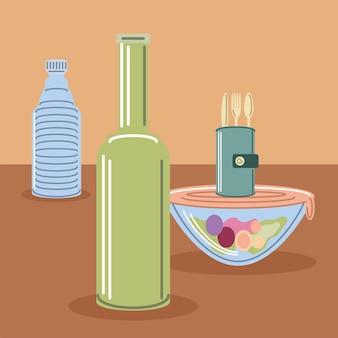 Eco herbruikbare producten