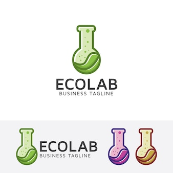 Eco lab logo sjabloon