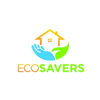 Eco logo nature