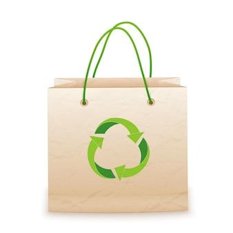 Eco papieren zak