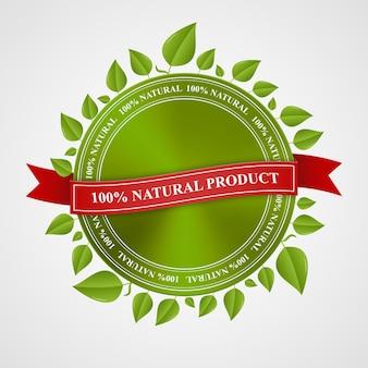 Eco-stempel, banner, label en certificaat