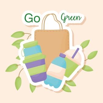 Eco-stickers kaart