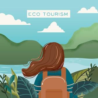 Eco toerisme concept