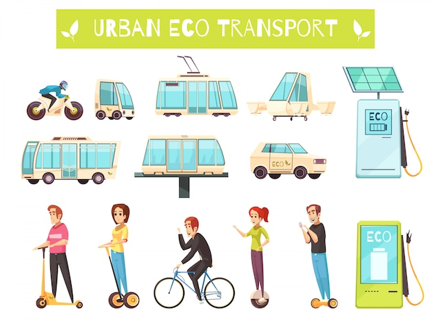 Eco-transportset
