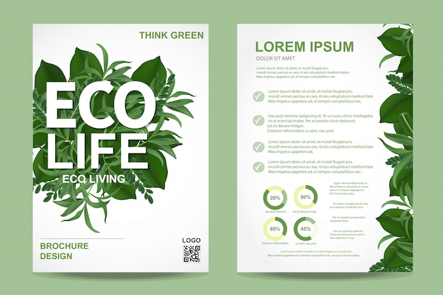 Ecologie brochure folder