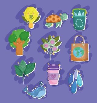 Ecologie en milieubescherming set