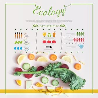 Ecologie infographic ontwerp