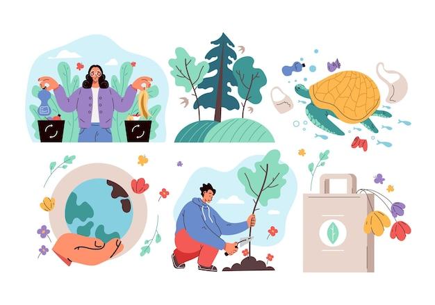 Ecologie milieu sparen bescherming planeet