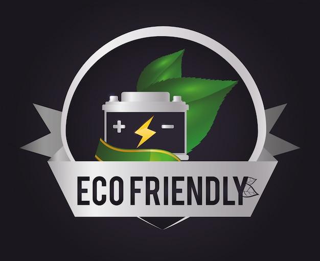 Ecologie pictogram ontwerp