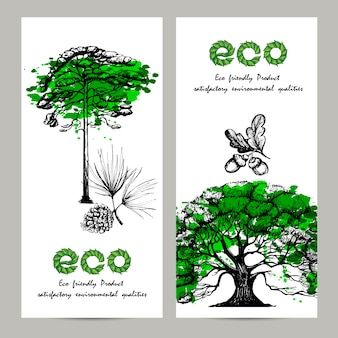 Ecologiebannerset