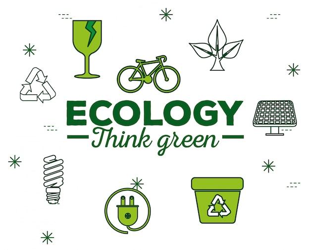 Ecologiebehoud met duurzaam element voor bescherming