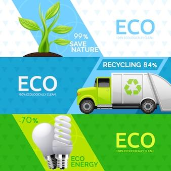 Ecologisch groen energiebronconcept