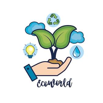 Ecologische bescherming voor natuurlijke milieuzorg
