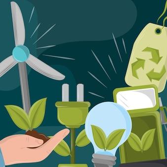 Ecologische en groene energie