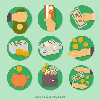 Economie pictogrammen