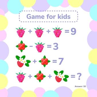 Educatief en wiskundig spel