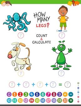Educatief spel voor kinderen
