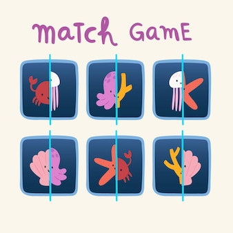 Educatief wedstrijdspel voor kinderen
