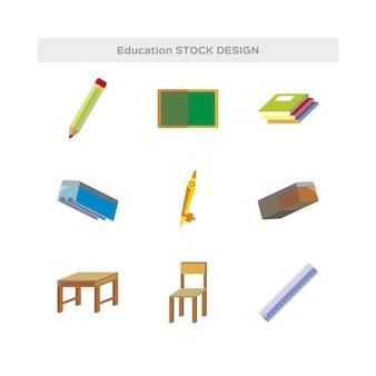 Educatieve elementen collectie