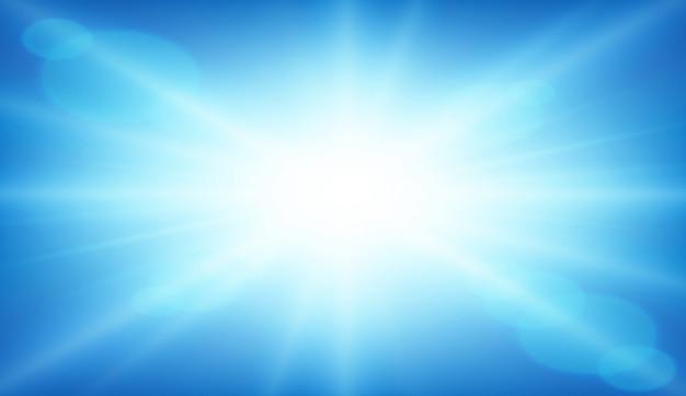 Een abstracte blauwe achtergrond