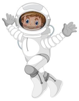 Een astronautenkarakter