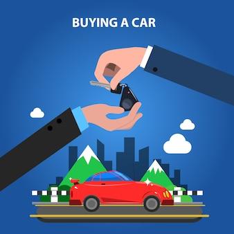 Een auto-concept kopen