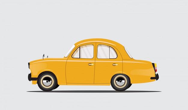 Een auto voor reizen, vrije tijd, verhuur, familie, roadtrip. mooie auto