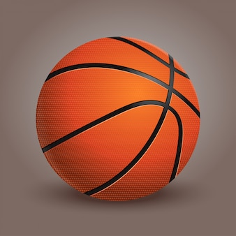 Een basketbal