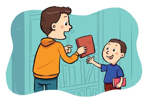 Een boek lenen