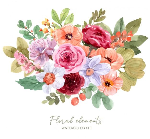 Een boeket bloemen