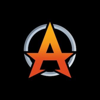Een brief logo ontwerp