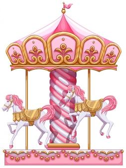 Een carrouselrit