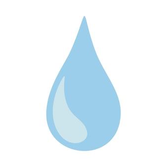 Een druppel water, een traan
