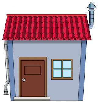 Een eenvoudige huisstijl cartoon