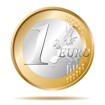 Eén euromunt