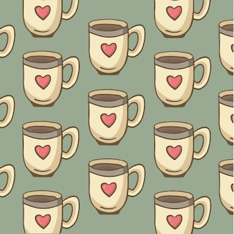 Een glas warme chocolademelk symbool social media post vector illustration