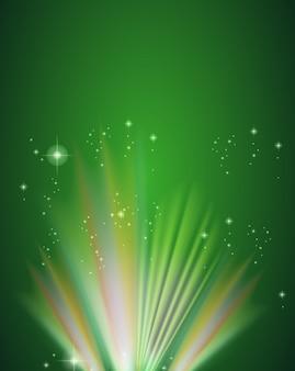 Een groene sjabloon