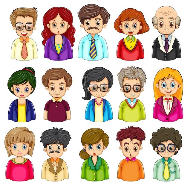 Een groep mensen