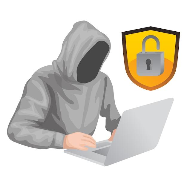 Een hacker slaagde erin het wachtwoord te openen van een account dat werd gehackt