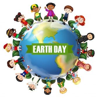 Een internationale dag van de aarde