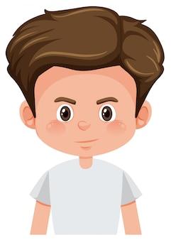 Een jongeman karakter