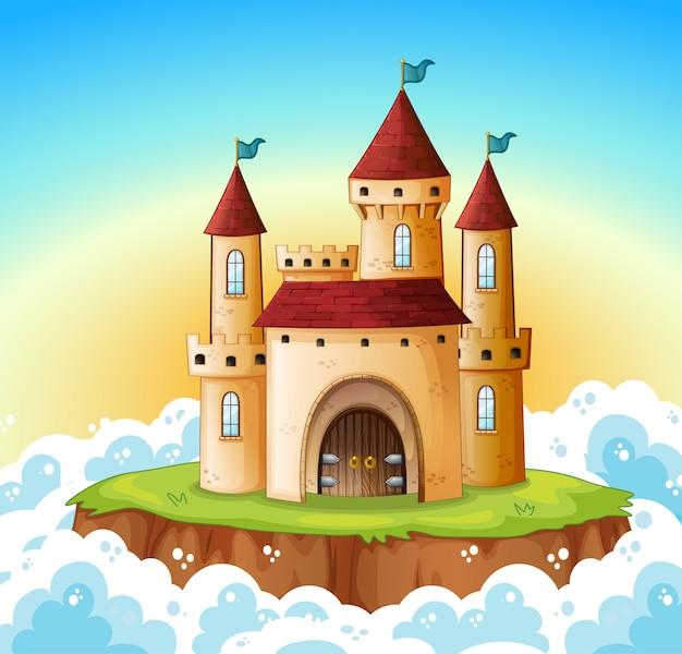 Een kasteel aan de hemel