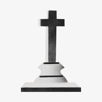 Een kruis vintage illustratie vector